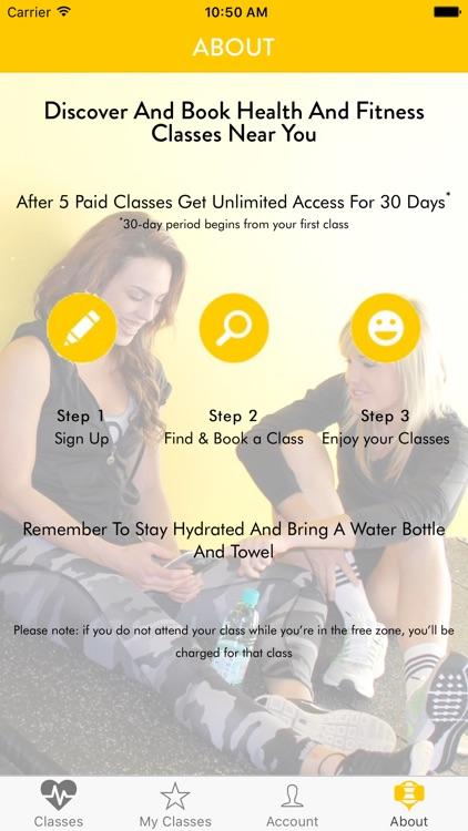 Buzvil - Group Fitness Classes screenshot-3