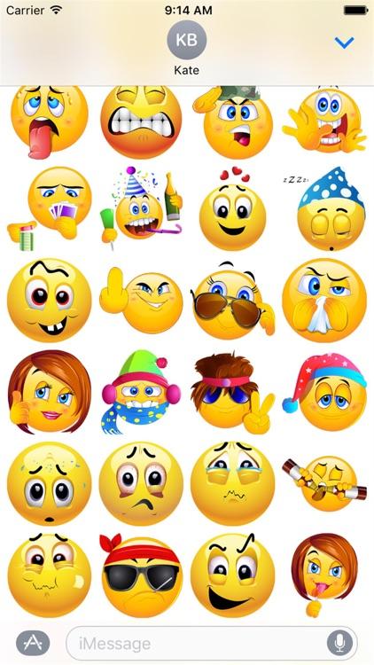 HD Emoji Stickers 2