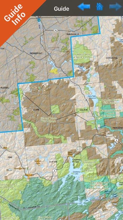 Adirondack State Park - GPS Map Navigator screenshot-3