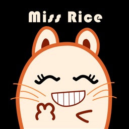 Miss Rice Stickers