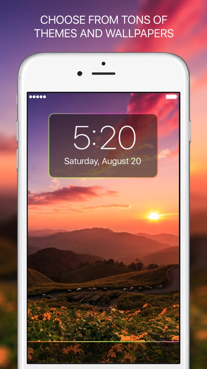 Lucky Locky - Cool themes & Lock screen wallpapers