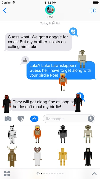 Star Skippers Stickers for iMessage