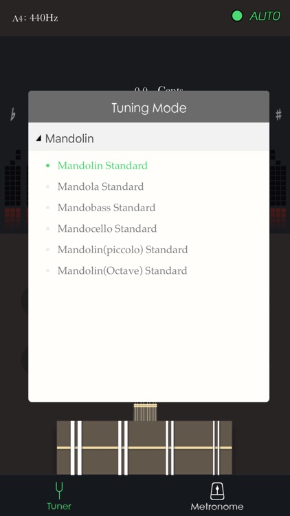Mandolin tuner and metronome - best tuner & m app screenshot-4