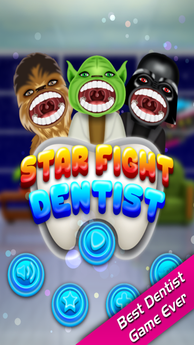 Star Fight Dentist in Little Crazy Doctor Mania Office screenshot one