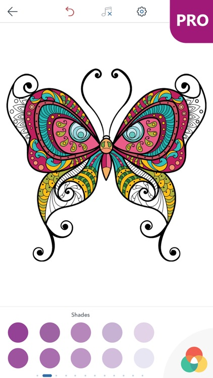 Butterfly Coloring Pages for Adults PRO screenshot-3