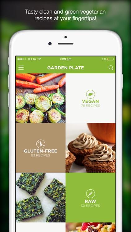 Garden Plate - veg & gluten free diet recipes