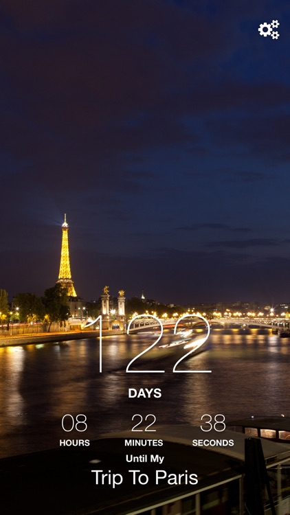 Paris Trip Countdown screenshot-2