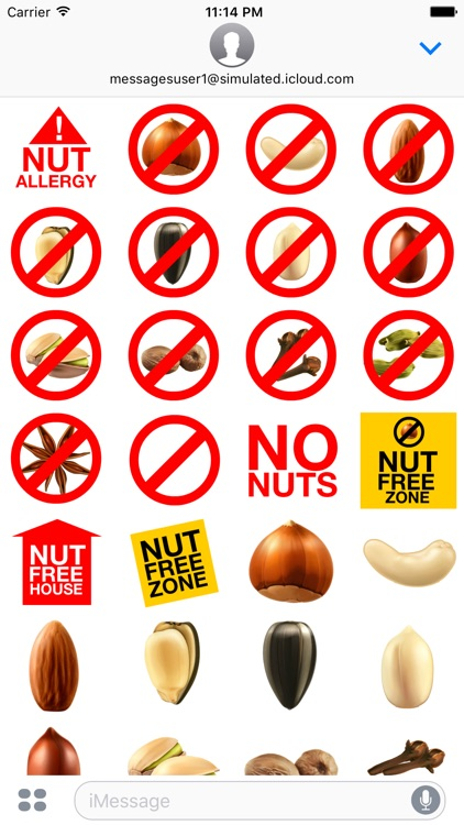 Nut Stickers