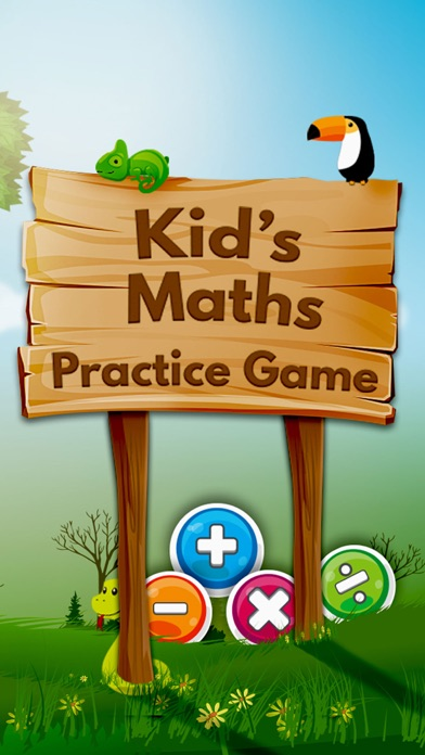 Kids Maths Practice Game screenshot one