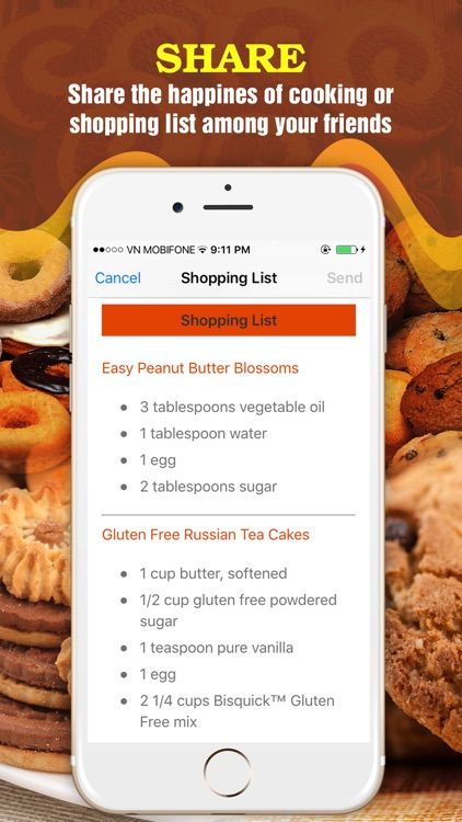 Yummy Cookie Recipes Pro ~ Best of cookie recipes screenshot-4