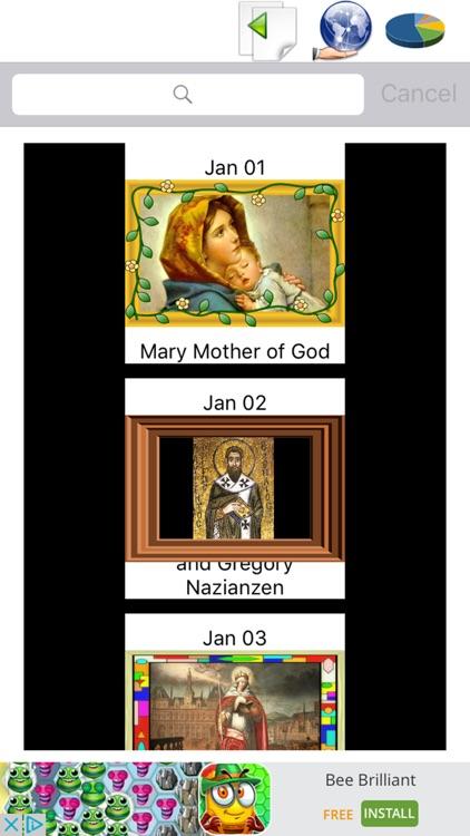 Catholic Liturgical Calendar