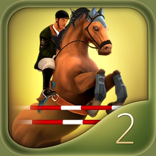 Jumping Horses Champions 2 iOS App