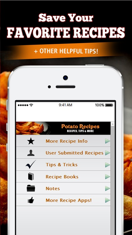 Potato Recipes!! screenshot-3
