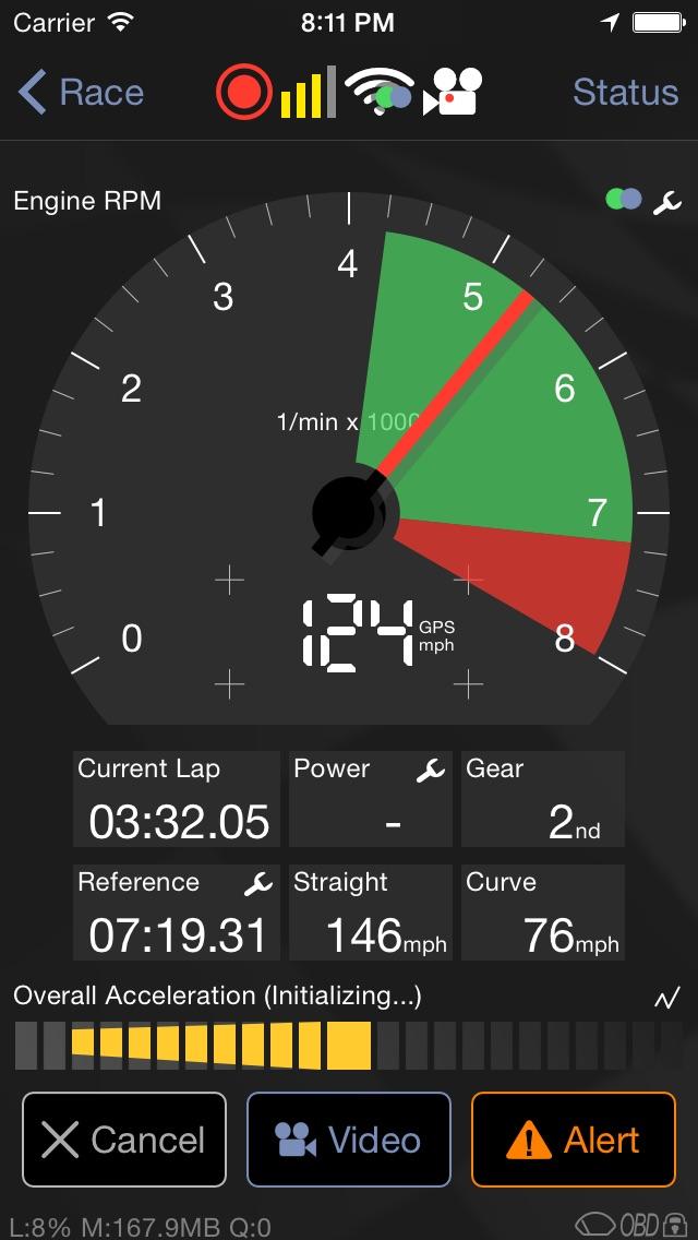 Screenshot for Harry's LapTimer Grand Prix in Germany App Store