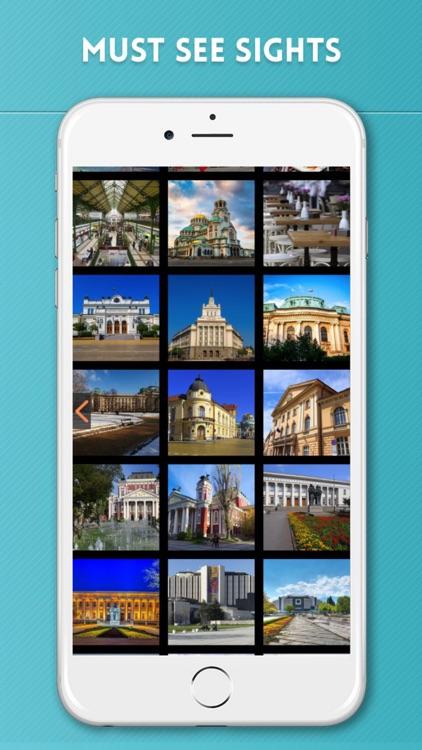 Sofia Travel Guide with Offline City Street Map screenshot-3