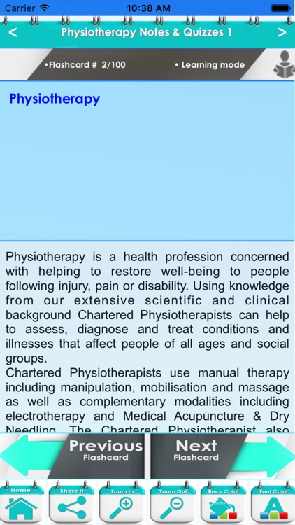 Physiotherapy Practice Test 5200 Flashcards & Quiz