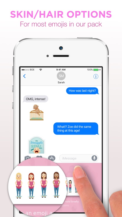 Bundle Of EmoJoy - Emojis for New Moms screenshot-3