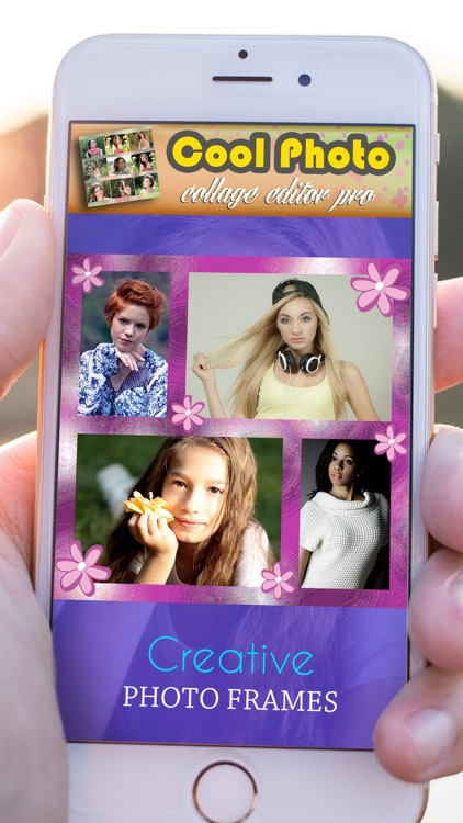Cool Photo Collage Editor Pro: Pic Grid Maker