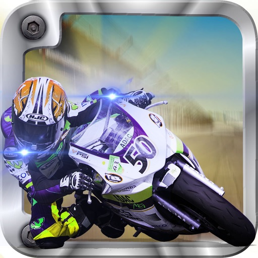 A Motorcycle Speedway Burning - Speed Unlimited