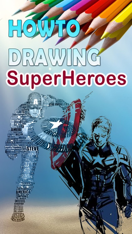 Easy How to Drawings of Superheroes Step by Step