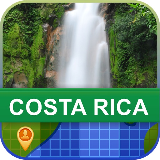 Offline Costa Rica Map - World Offline Maps