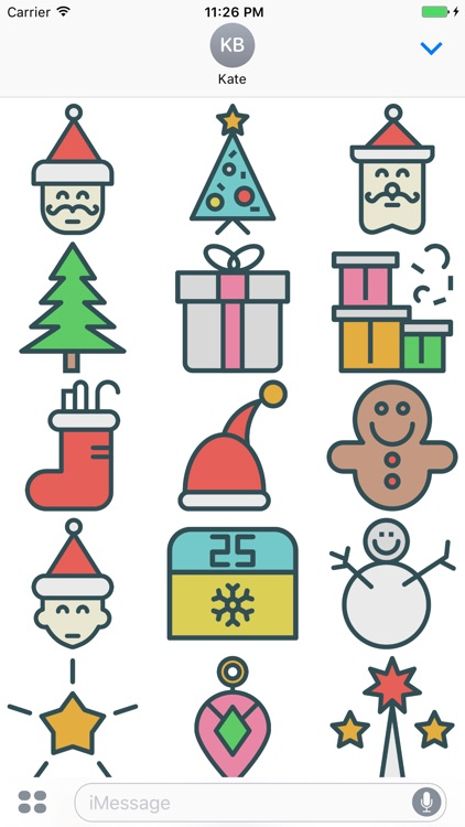 Merry Christmas Wishes for iMessage
