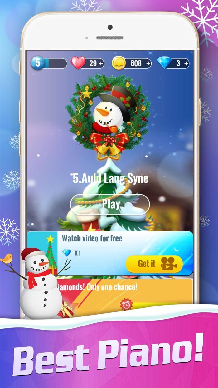 Piano Magic Tiles 2: Christmas Screenshot
