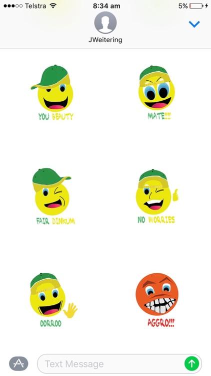 Aussie Slang Stickers