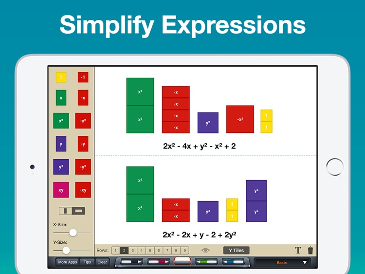 Algebra Tiles screenshot-3