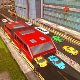 Futuristic Elevated Bus Simulator – Bus Driving