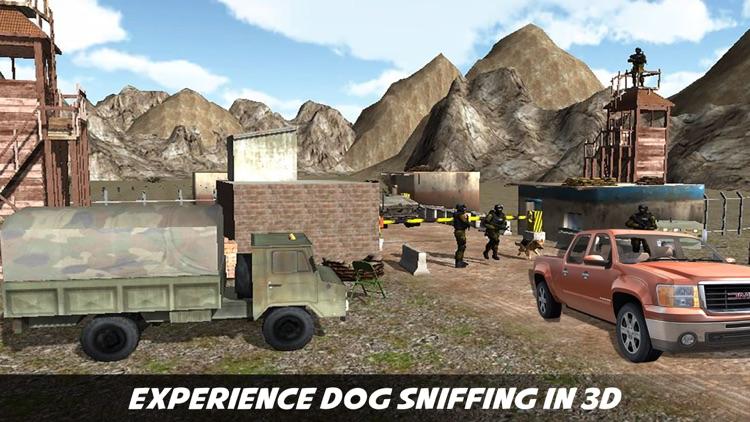 Sniffer Dog Agent : Help Border Patrol Agency USBP screenshot-3