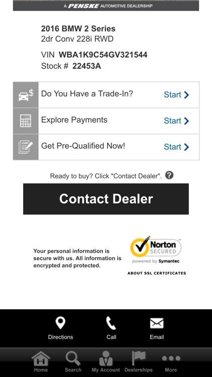 Penskecars.com screenshot-4