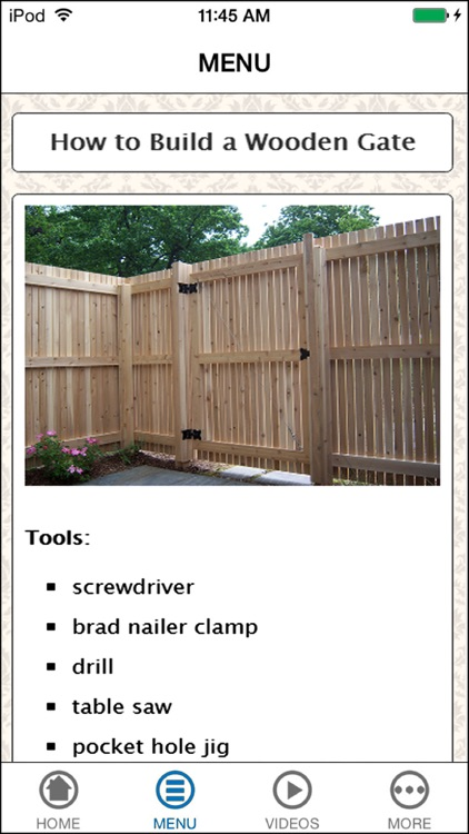 Design & Build Your Awesome Wood Privacy Fence screenshot-3