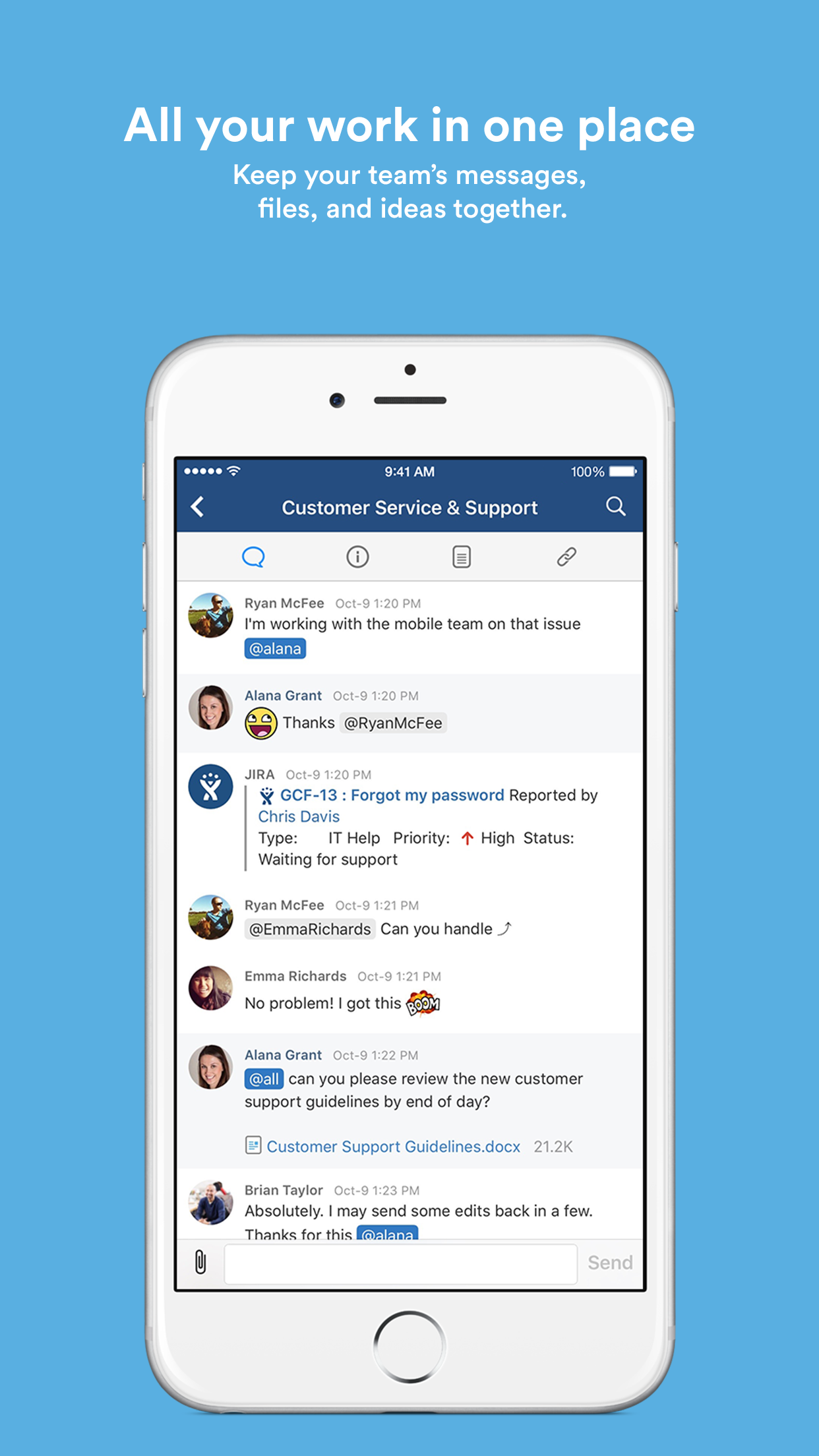 HipChat – Group chat for teams & business Screenshot