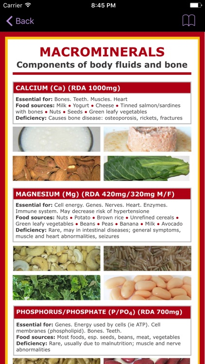 Magnesium Counter & Tracker for Healthy Food Diets screenshot-3