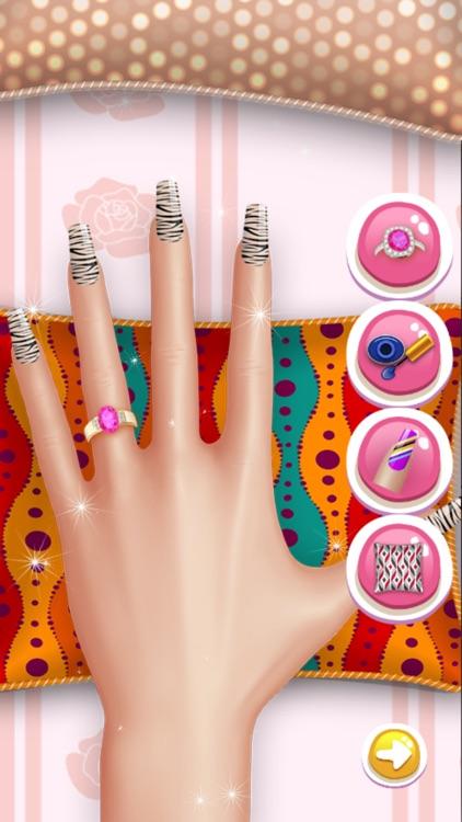 Princess Nail Art Salon Games For Kids By Anchalee Pradissook