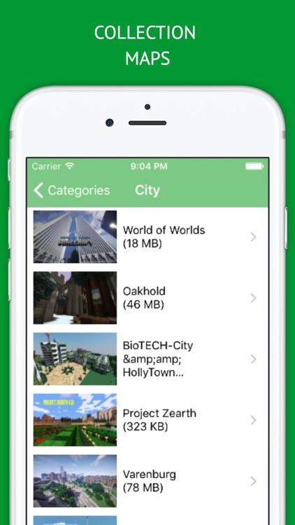 Maps for Minecraft PE MineMaps - Download Best Maps for Minecraft Pocket Edition screenshot-3