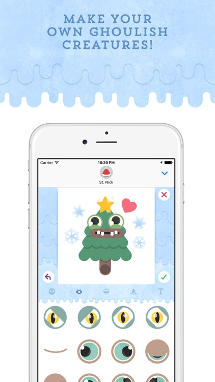 Monster Maker: Create your own stickers