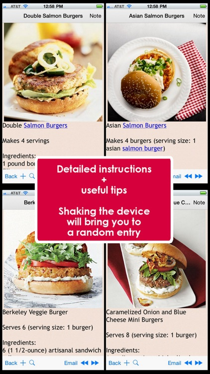 300 Burger Recipes screenshot-0