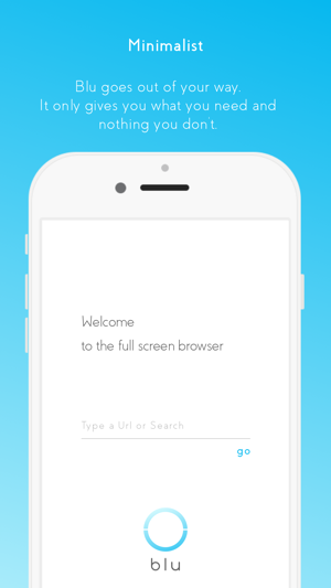 blu - full screen browser on the App Store
