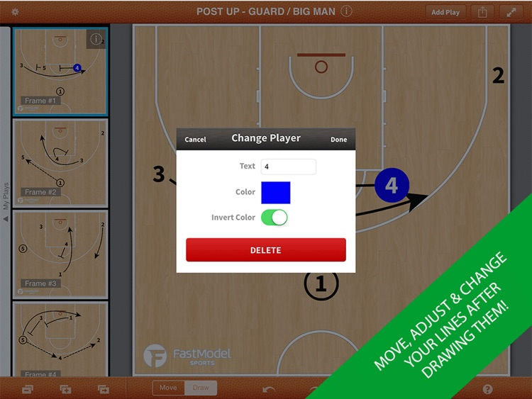 FastDraw Basketball Pro screenshot-2
