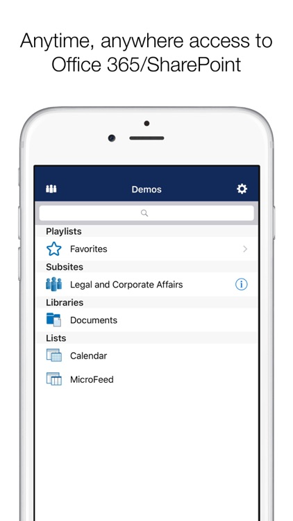 Colligo Briefcase: SharePoint for iPhone and iPad