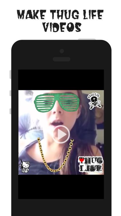 Thug Life Maker - Create Funny Videos & Photos