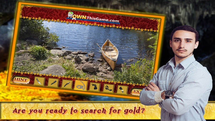 Hidden Objects Game Gold