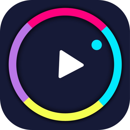 crazy circle wheel - color ball switch free game