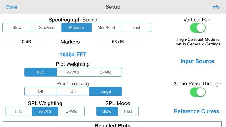 SmaartTools Single Channel RTA screenshot-3