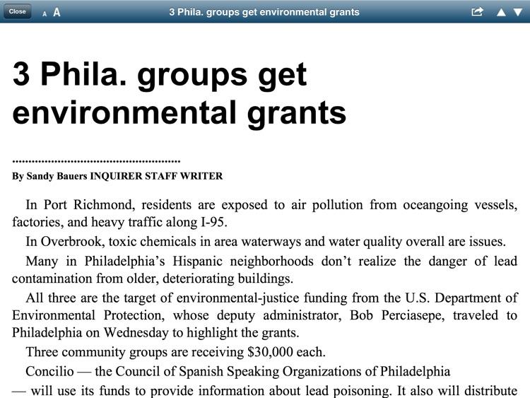 The Philadelphia Inquirer Replica - NJ Edition screenshot-3