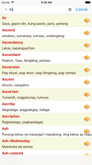 english tagalog dictionary offline free on the app store. Black Bedroom Furniture Sets. Home Design Ideas