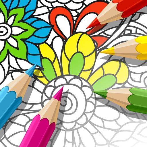 Mandala Coloring Book - Adults Coloring Book Relax