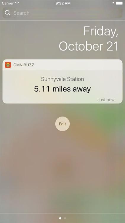 OmniBuzz - GPS Alarm for Transit